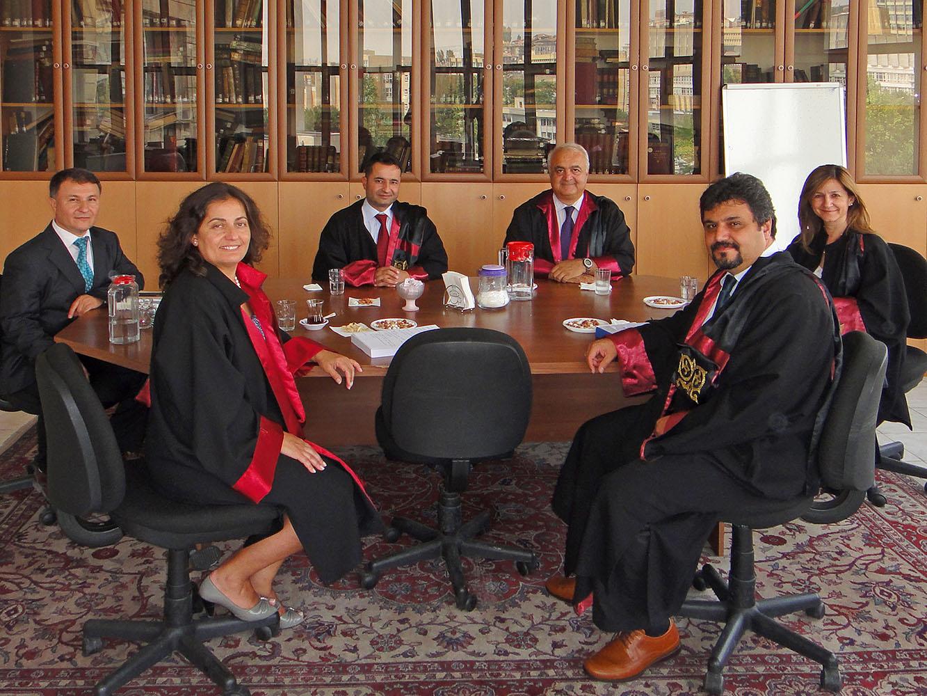 AÜ Tıp Fak. Jüri Toplantısı - 2010