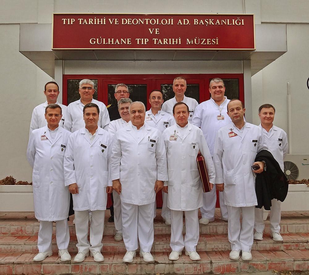 Temel Tıp Bilimleri Bölümü Hocaları ile 2011