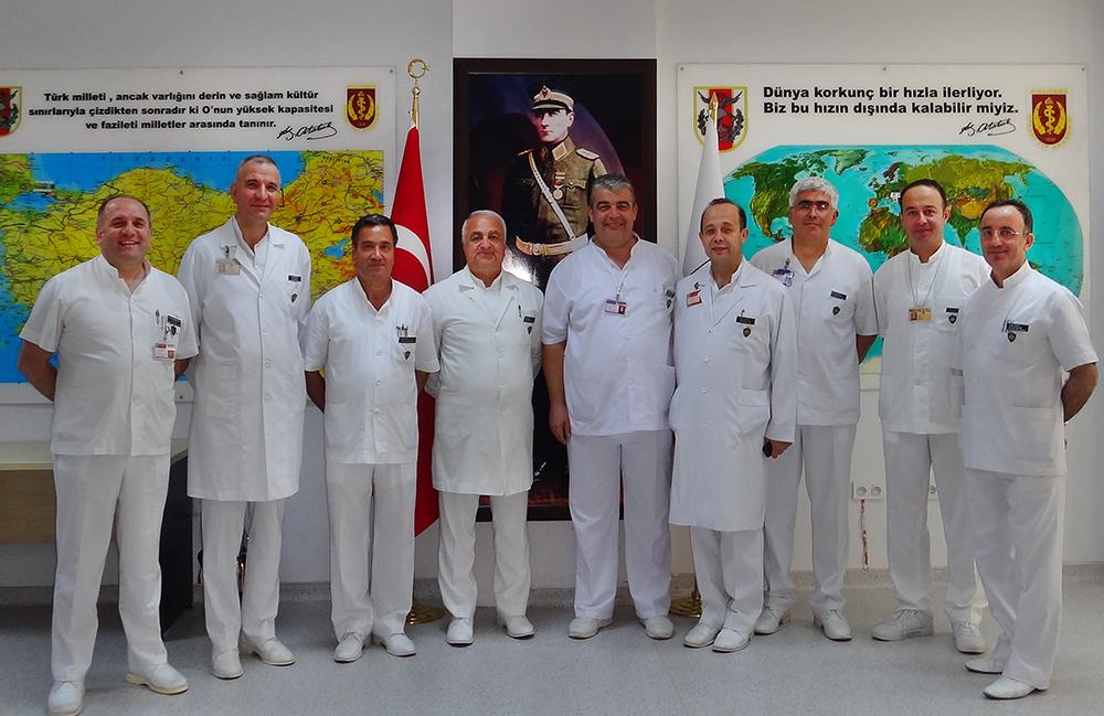 Temel Tıp Bilimleri Bölümü Hocaları ile 2012