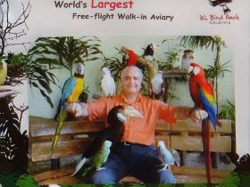 Malezya Kuş parkı hatırası (2013)